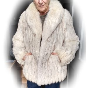 Vtg. Berman's Saga Fox Fur Coat